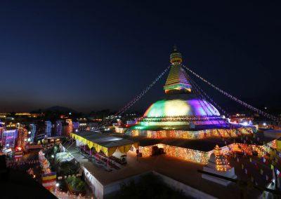 Bouddha-Stupa